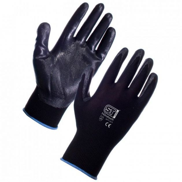 Nitrotouch Gloves | nitrile gloves | Black gloves